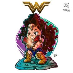 Wonder Woman - Chibi Art