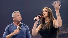 Stephanie McMahon and Shane McMahon - WWE Raw July 18 2016