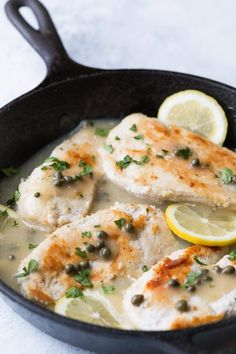 Easy Weeknight Whole30 Chicken Piccata,ready in less than 30 Minutes! This recipe is Paleo,Whole30, and low carb.