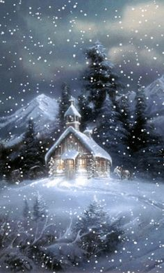 winter gif.... Church