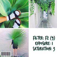 แจกปลดล็อค VSCO Cam แจก VSCO Cam filter โทน Green Vintage