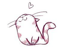 「cute cat illustrations」の画像検索結果