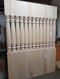 These posts are our Heritage porch post pattern.