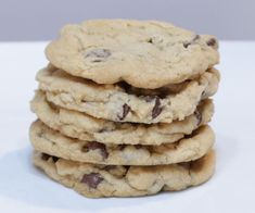 Easy Eggless Chocolate Chip Cookies : 8 Steps (with Pictures) - Instructables Chocolate Chip Cookie Recipe Without Eggs, Cookie Recipes Without Eggs, Eggless Cookie Recipes, Easy Chocolate Chip Cookies, Baking Recipes, Free Recipes, Pictures, Breads, Biscuits