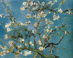 Vincent Van Gogh-Ramos de almendro en flor
