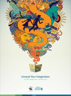 Standard Chartered Bank / The Gratiaen Prize: Unravel Your Imagination, 3