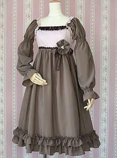 Victorian Maiden dress.