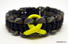 Support the Troops Bracelets / TWiSTED BRAiDS \ Paracord Bracelets - Necklaces - Wrist and Neck Lanyards