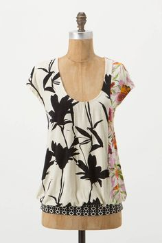 Silk Road Mosaic Tee from Anthropologie - $68.00