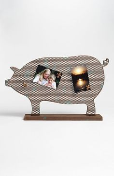 Magnetic Pig Shaped Board available at #Nordstrom