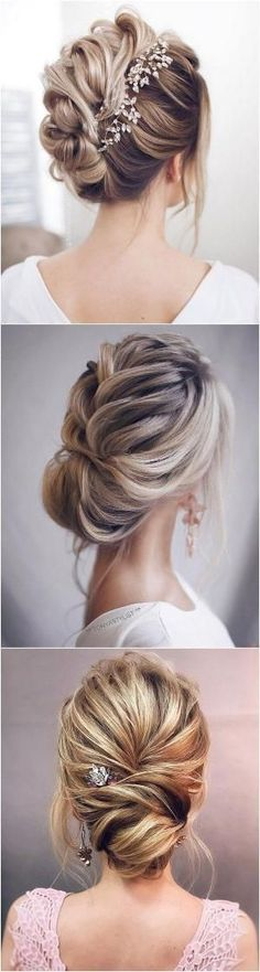 elegant updo wedding hairstyles #wedding #hairstyles #weddinghairstyles by meghan