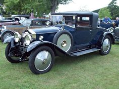 Rolls Royce Twenty (1922-29) Engine 3127cc S6 OHV Production 2940, this example from 1926.