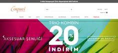 45'e ulaşan konsept mağazası ile Türkiye'nin güçlü #takı ve#aksesuar #markası #Coquet #Accessories, #online satışlarını #Ticimax #eticaret altyapısı ile yapmaktadır. https://www.ticimax.com/e-ticaret-siteleri/  #sanalmağaza #eticaretsitesi #onlinesatış #ecommerce #mobilticaret #satışsitesi #ticimax