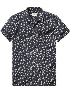 NEW AT BIIRD | SCOTCH & SODA CRINKLE COTTON SHORT SLEEVE SHIRT $109.95 | IN STORE NOW