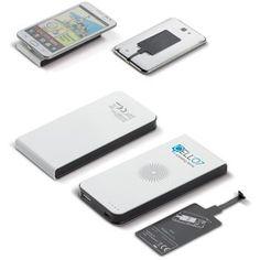 Powerbank mod. 95068, da 4000 mAh wireless con funzione ricarica e ricettore per Android. Metti il ricevitore sul tuo smartphone e adagia il telefono sulla powebank. Il telefono si caricherá senza fili.   Dimensioni: 127x62x14 mm