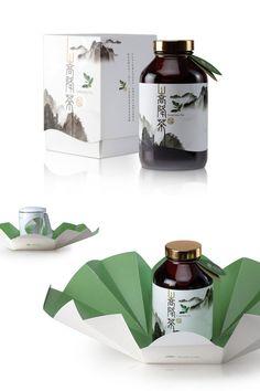 Forest Treasure SongJianq Tea // Designed by Subtropics Creativity Design, Taiwan