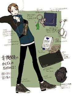 Hatano from Joker Game
