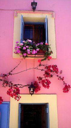 GREECE CHANNEL   ~Fiskardo - Kefalonia , Greece~  #greece  #kefalonia  #windows