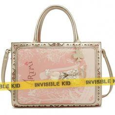 """Розовая сумка с принтом """"Art"""" (AS13)  #сумка #мода #bag #купить"""