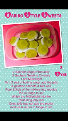 Slimming world haribo style sweets