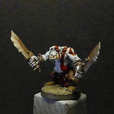 Ork Boy, God Of War, Warhammer 40k.