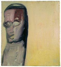Eva Hesse  No title  1960Oil on canvas. 18 x 16 inches. Ursula Hauser Collection, Switzerland.