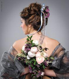 Beatiful romantic elegant look for our shooting  blog http://www.taniamuser.com/blog-trucco-e-fioritendenze-2016/ Stupendo ed elegante look romantico per il nostro shooting e blog http://www.taniamuser.com/blog-trucco-e-fioritendenze-2016/