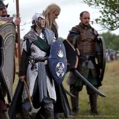 """lyeldalagren: """" Elrian in Full Armor just before the Final Battle. The Photo was taken by Jens Pönisch and edited by myself. """""""