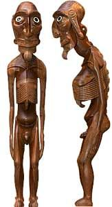 Moai Kavakava - erigierter Penis