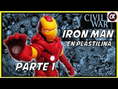 Mundo Marvel, Iron Man, Youtube, Disney Characters, Fictional Characters, Movie Posters, Play Dough, Porcelain, Film Poster