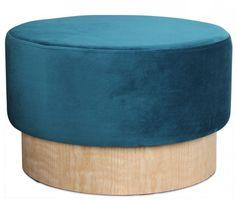 Pouf bleu canard : les plus beaux modèles Pouf Bleu, Deco Boheme, Ottoman, Home Decor, Square Ottoman, Round Ottoman, Blue Velvet, Blue Fabric, Beautiful Models