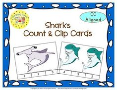 Practice counting 1-20 with Sharks.