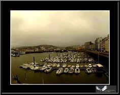 Cherbourg en Cotentin....le port by Artiste photographe -ERIC VILLEY-et-Carine