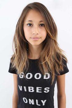 Straight Razor Cut Long Hair
