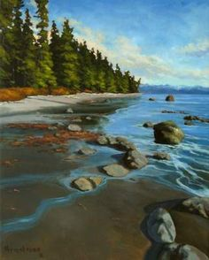Steven Armstrong PLAYING MARBLES ~ Salt Spring Art Galleries