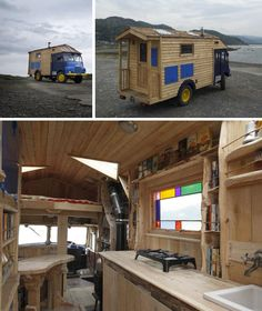 J'adore via www.mercotribe.net • Voir le sujet - Camion roulotte bois)