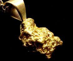 GOLD NUGGET PENDANT 2.05 GRAMS LGN 888