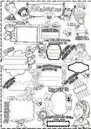 All About Me Worksheets | All these worksheets and activities for ...