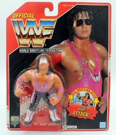 Bret Hart Hasbro Wrestling Figure WWF on Mercari Wwf Superstars, Wrestling Superstars, Wrestling Wwe, Wwf Toys, Wwf Hasbro, Wwe Action Figures, Old School Toys, Modern Toys, Wwe Wrestlers