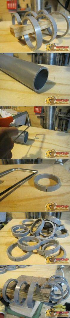 DIY PVC Pipe Clamp