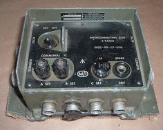 Clansman radio interconnecting box 3 radio 1176110