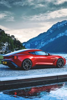 vividessentials:2017 Aston Martin Vanquish Zagato Concept |...