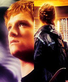 Hunger games Peeta and Katniss