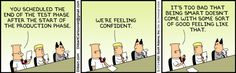 dilbert cartoons software testing - Google Search