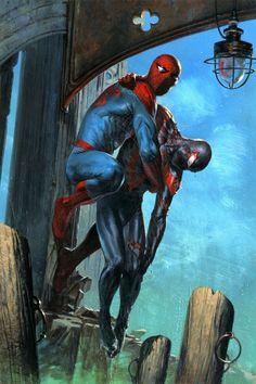 """Gabriele Dell'otto — """"Spider-men II, #2 variant"""
