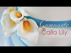 Gumpaste Calla Lily Tutorial Tutorial on Cake Central