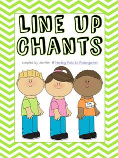 Freebie - Classroom Management - Transition Songs for Lining Up Free Line up songs for kindergarten classroom management. Make transitions easier with fun chants. Kindergarten Songs, Kindergarten Classroom Management, Classroom Procedures, Preschool Songs, Classroom Ideas, Kindergarten Procedures, Classroom Chants, Preschool Ideas, Preschool Lessons