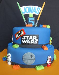Lego Star Wars Cake!