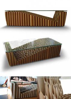mesa-cafe-reciclando-307-tubos-carton-muy-ingenioso-1