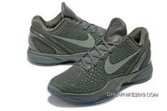 866aec61304f Nike Zoom Kobe 6 Fade To Black Basketball Shoes Latest